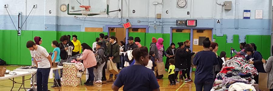 Social Services Fair a Big Hit