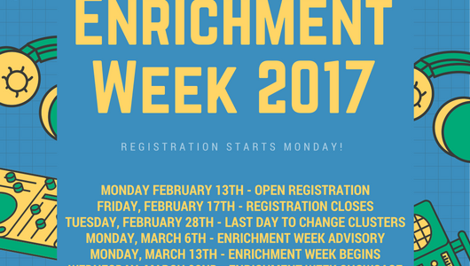 Enrichment Week 2017!