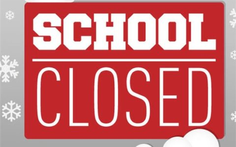 Schools Closed Today, January 4, 2018