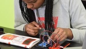 SEP students learn coding and hardware