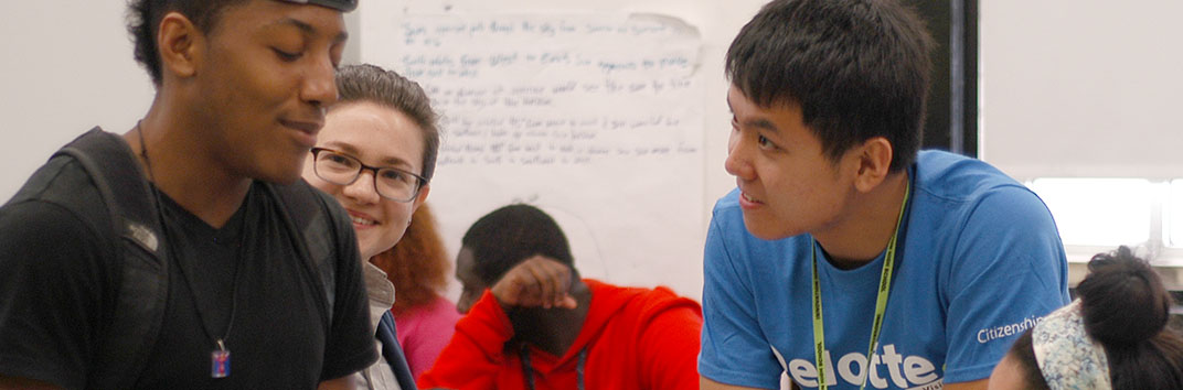 Innovation High School and Deloitte LLP Partner for Impact Day