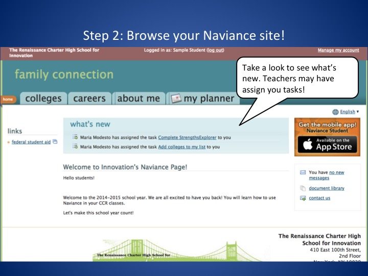 Naviance Log-in