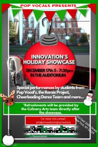 Holiday Showcase flyer
