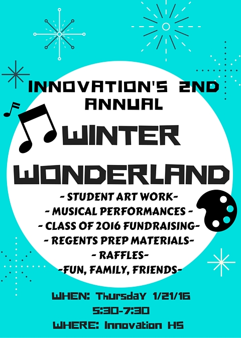 Innovation Winter Wonderland January 21st
