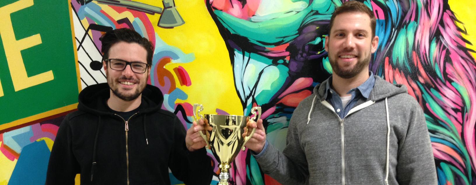 Innovation's Dynamic Digital Duo – Hackathon Winners!