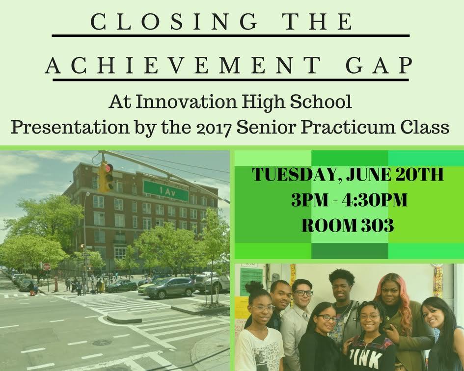 1st Annual Senior Practicum Presentations