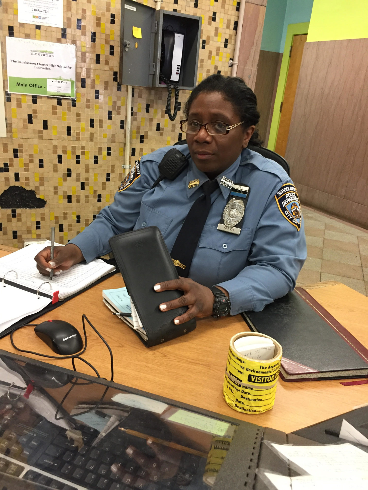 The Job of Ms. Smith: A Security Guard at Innovation