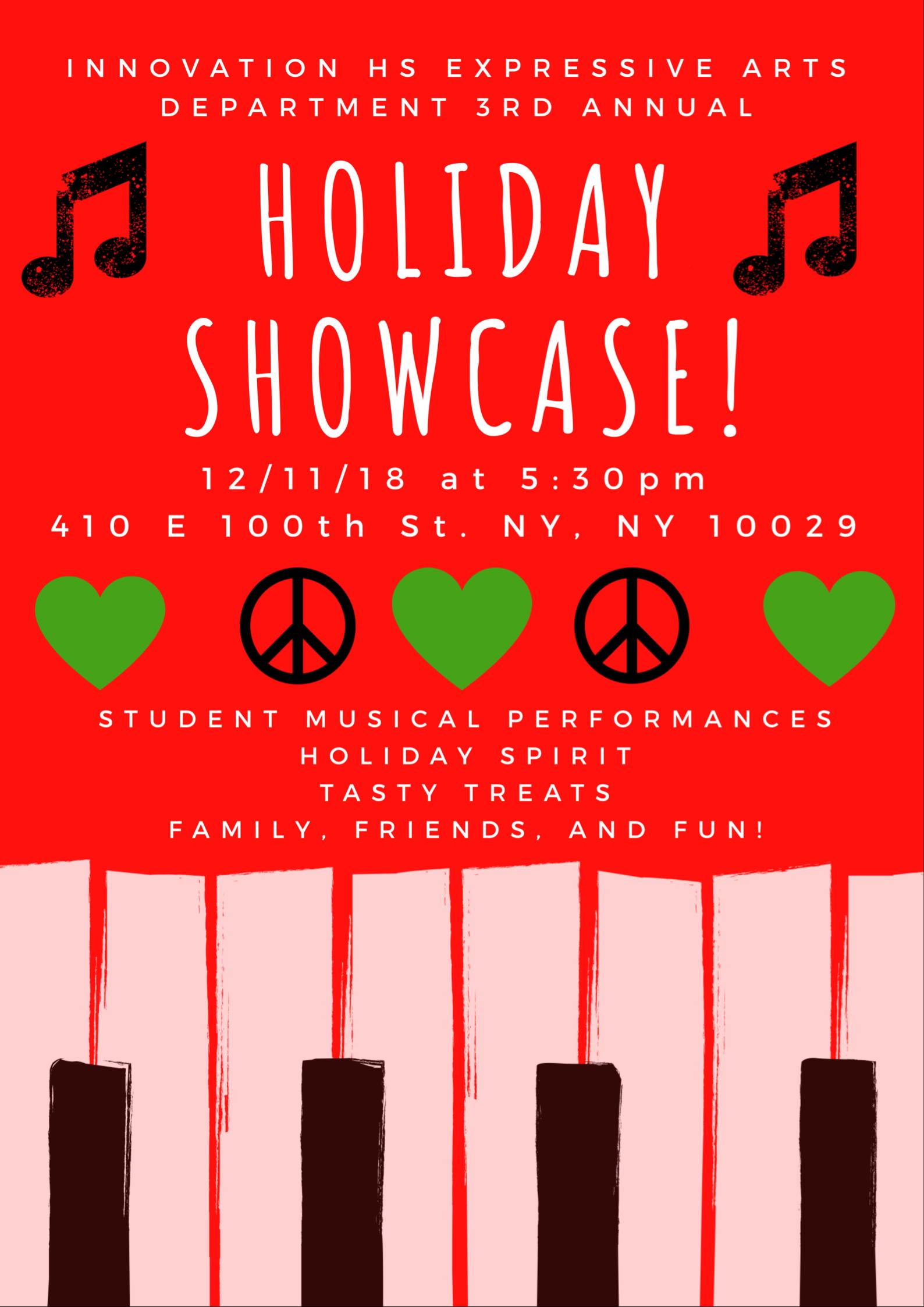 2018 Holiday Showcase