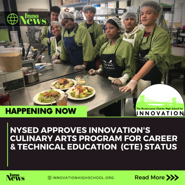 Culinary Arts Program Approved for Career & Technical Education Status