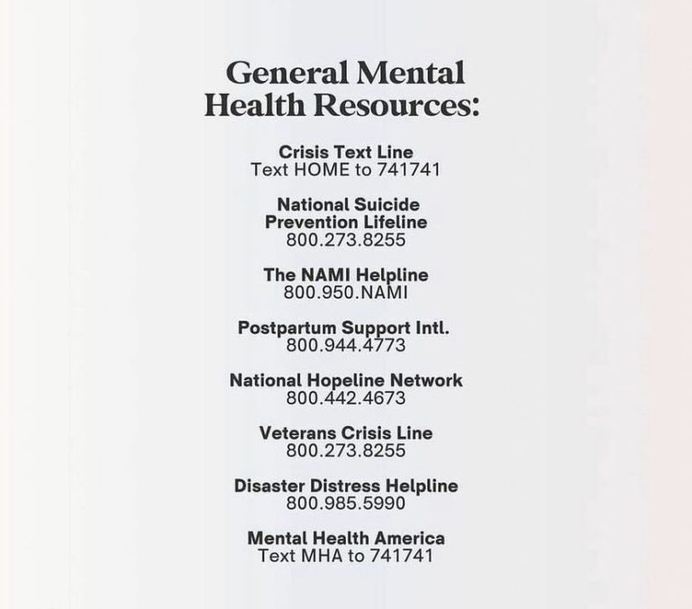 During Mental Health Awareness Month we would like to share some useful resources for our community.